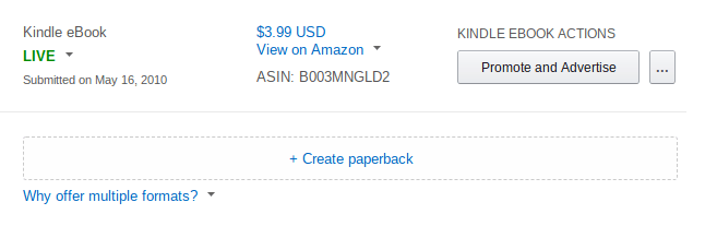 How to Move Your Book From Createspace to KDP Print – Ryan M