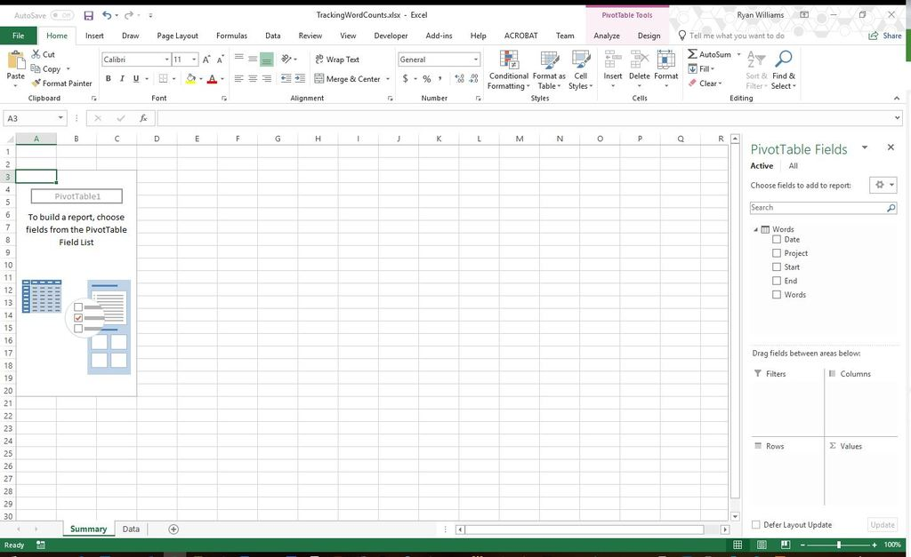 Pivot Tables in Excel